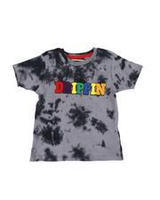 Arcade Styles - Drippin Chenille Patch Tie Dye Tee (4-7)-2546443