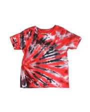 T-Shirts - Rebel Tie Dye Tee W/ Rhinestones (4-7)-2546334