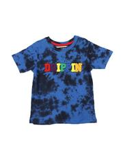 Arcade Styles - Drippin Chenille Patch Tie Dye Tee (4-7)-2546461