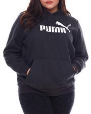 Puma - Ess Logo Hoody FL (Plus)-2544050