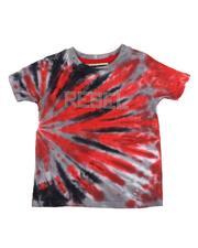 T-Shirts - Rebel Tie Dye Tee W/ Rhinestones (2T-4T)-2546343