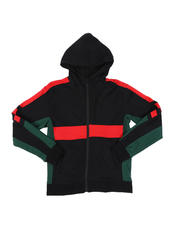 Hoodies - Color Blocked French Terry Hoodie (8-18)-2545906