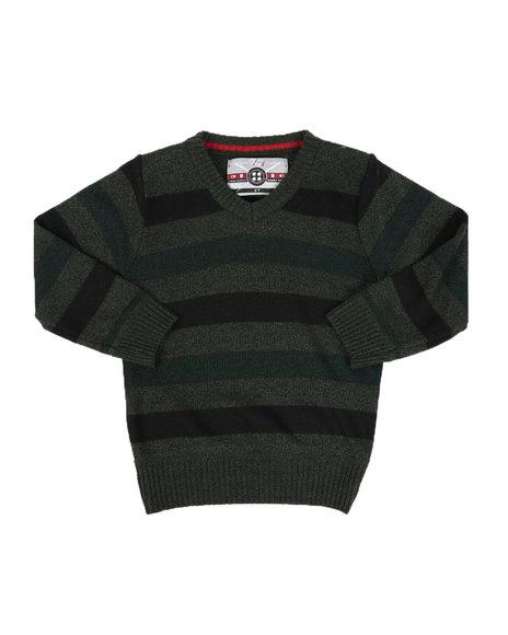 Arcade Styles - Multi-Color Stripe Sweater (2T-4T)