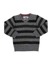 Sweatshirts & Sweaters - Multi-Color Stripe Sweater (2T-4T)-2546001