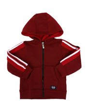 Phat Farm - Side Poly Taped Zip Up Fleece Hoodie (2T-4T)-2546152