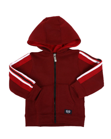 Phat Farm - Side Poly Taped Zip Up Fleece Hoodie (2T-4T)