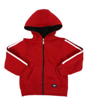 Phat Farm - Side Poly Taped Zip Up Fleece Hoodie (4-7)-2546423