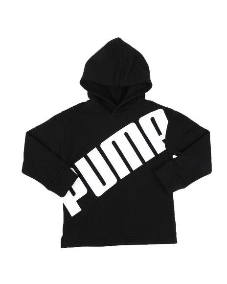 Puma - Slant Pack Fleece Pullover Hoodie (4-7)