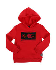 Southpole - Thick Gel Logo Fleece Pullover Hoodie (4-7)-2546481