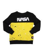 Southpole - Southpole x NASA Chenille Patch Sweatshirt (4-7) -2546496