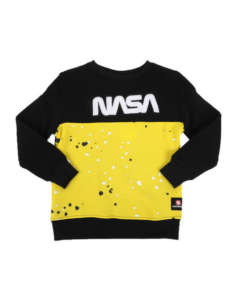 Southpole - Southpole x NASA Chenille Patch Sweatshirt (4-7)