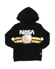 Hoodies - Southpole x NASA Chenille Patch Pullover Hoodie (4-7)-2546506