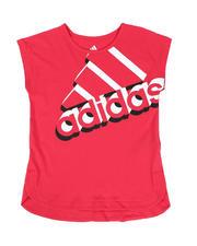 Adidas - Adidas Split Tee (7-16)-2546601
