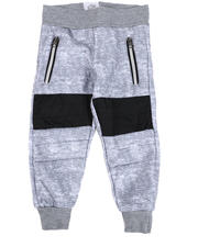 Bottoms - Moto Knit Joggers (2T-4T)-2546735