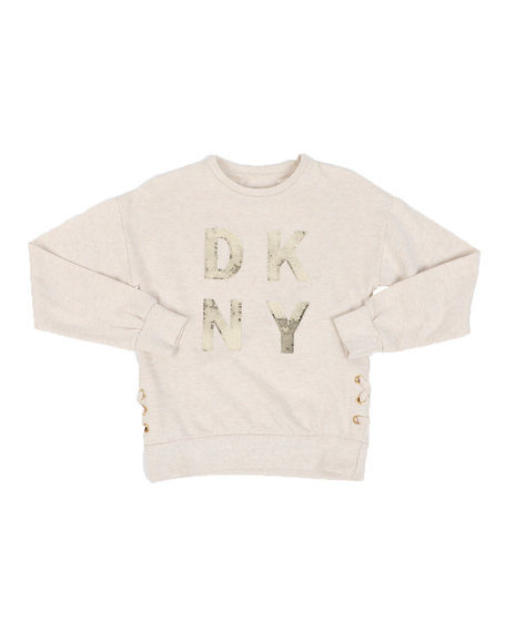 DKNY Jeans - Flip Sequin Popover W/ Lace Up (7-16)