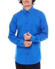 Shirts - LS STRETCH COTTON 50S SHIRT-2545290