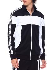 KARL LAGERFELD PARIS - LOGO TAPE TRACK JACKET-2545835