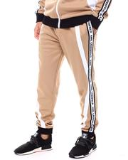 KARL LAGERFELD PARIS - SIDE LOGO STRIPE TRACK PANT-2545768