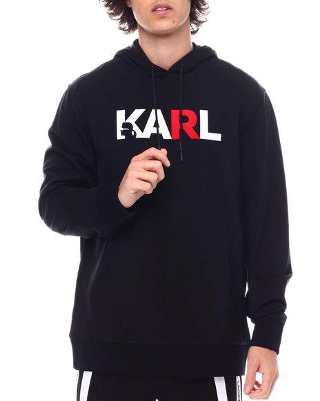 KARL LAGERFELD PARIS - Karl Logo Hoodie