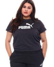 Puma - Ess Logo Tee (Plus)-2544042
