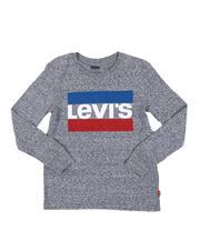 T-Shirts - Long Sleeve Sportswear Logo Tee (8-20)-2543653