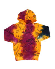 Hoodies - Allover Print Front Pocket Pullover Hoodie (4-7)-2545896
