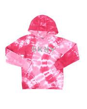 DKNY Jeans - Logo Tie Dye Fleece Pullover Hoodie (7-16)-2546576