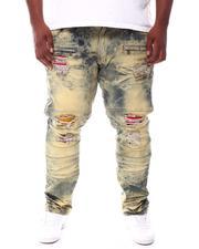 Makobi - The Pop Jean Patch Bleached Jeans (B&T)-2537860