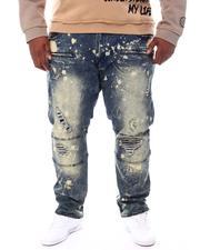 Makobi - Makobi Jeans W/Plaid Contrast (B&T)-2537867
