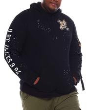 SMOKE RISE - Paint Splatter Hoodie Sweatshirt (B&T)-2546326