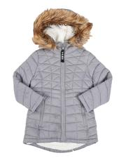 Girls - Sherpa Lined Faux Fur Hood Anorak (4-6X)-2547339