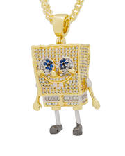 Stocking Stuffers - Spongebob x King Ice Necklace-2547335