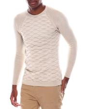 Sweatshirts & Sweaters - Raglan Knit w Ornate Chest Detail-2547382