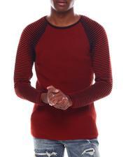 Men - Contrast Rib LS Raglan Knit-2547534