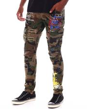 Men - Graffiti Camo Cargo Pant-2548031