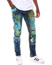 Men - SLIM TAPERED Dream Graffiti Jean-2547945