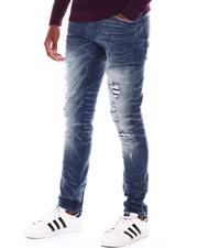 Men - Light Distressed Jean-2548370