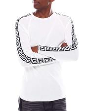 Men - Ls Greek Key Knit-2547573