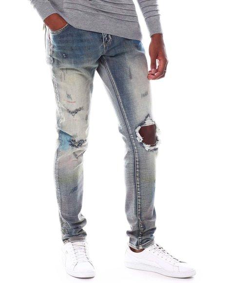 Crysp - EDWARDS LIGHT SAND WASH Jean
