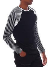 Men - Contrast Rib LS Raglan Knit-2547545