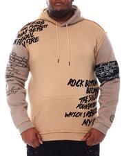 SMOKE RISE - Verbiage Two Tone Hoodie Sweatshirt (B&T)-2546339