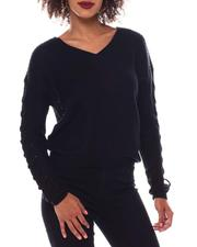 Fashion Lab - Sweater With Lace up-2548788