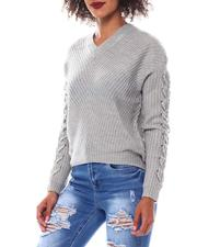Fall-Winter - Sweater With Lace up-2548798