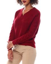 Fashion Lab - Sweater With Lace up-2548793