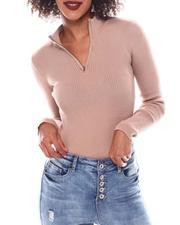Fall-Winter - Turtleneck Strip Sweater-2548909