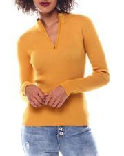 Sweaters - Turtleneck Strip Sweater-2548919