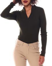 Fall-Winter - Turtleneck Strip Sweater-2548886