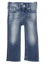 Bottoms - Big T Straight Jeans (2T-4T)-2549254
