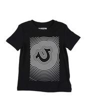 True Religion - HS Waves Logo Tee (4-7)-2549459