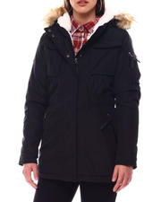 XOXO - Heavy Weight Anorak W/Sherpa Lining-2546753